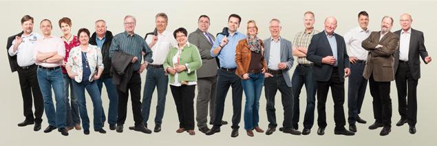 Die Kandidatinnen und Kandidaten der CDU Rahden