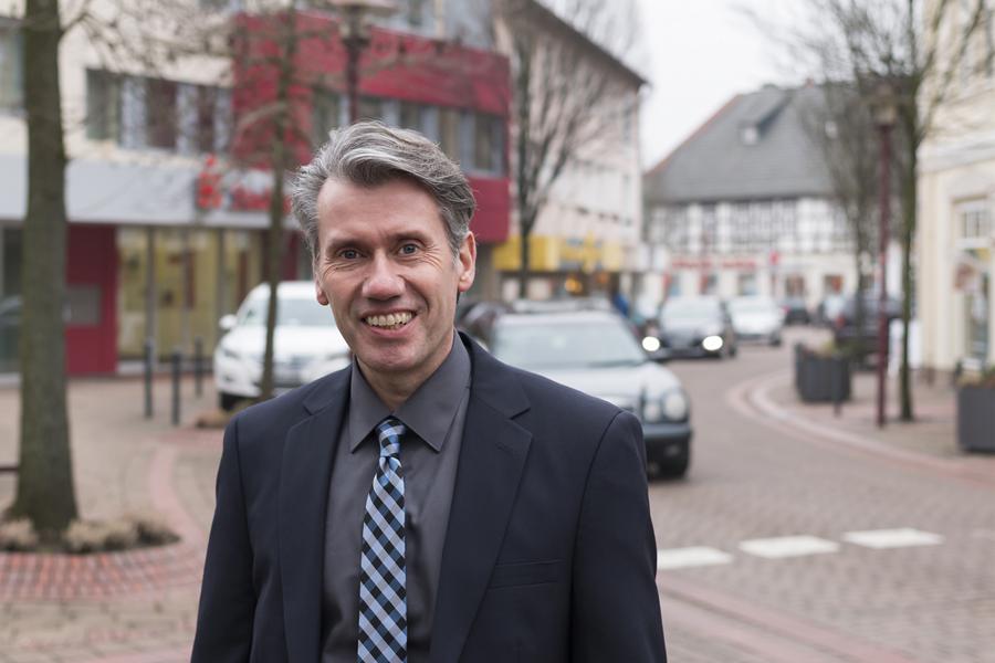 Dr. Bert Honsel, Bürgermeisterkandidat der CDU Rahden
