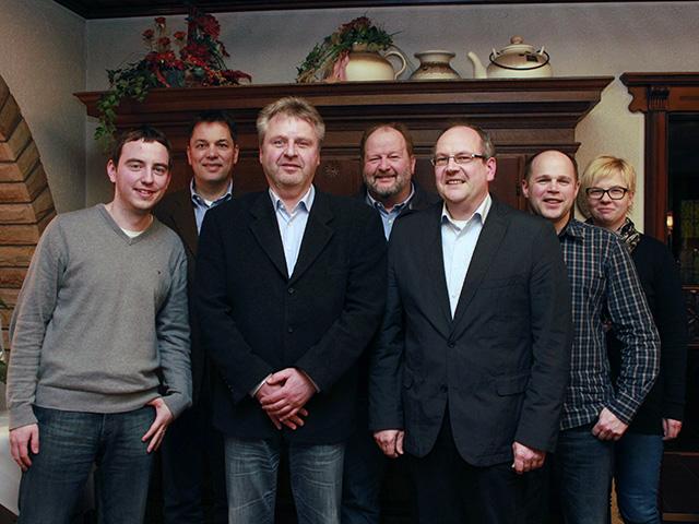 Der neu gewählte Vorstand der CDU-Ortsunion Rahden